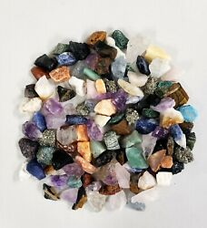 Raw Crystal Chunks 1quot; to 2quot; Assorted Crystals Bulk Mixed Lot Collection $9.50