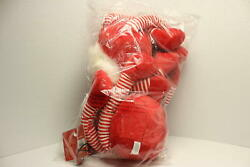 Pet Lou Holiday Plush GNOME Pet Toys for Dogs and Cats with Multi Squeak and $15.96