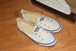 Converse All Star White black CT ballet sneaker casual shoes 9 NWB $39.99