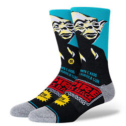 Stance Star Wars The Empire Strikes Back Yoda 40th Anniverary Socks L Men#x27;s 9 13 $19.99