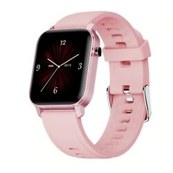 Watch Smart Band Waterproof for Android iOS Phone Mate Bluetooth Women Men PINK $28.50