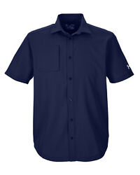 XXL Under Armour Shirt UA Mens ULTIMATE Fishing Tactical BLUE 2XL NWT $65 $31.00
