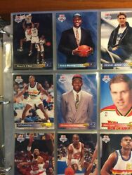 1992 93 Upper Deck Basketball Set 1 510 Shaquille O'Neal Rc With Binder amp; Pages $99.00