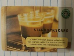New Starbucks 2006 COFFEE AS ART Gift Card. Old Logo. Rare $2.65