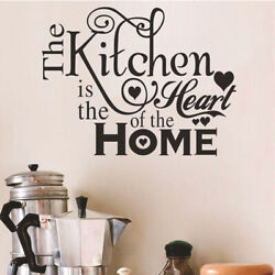 Vinyl Kitchen Rules Room Decor DIY Art Quote Wall Decal Stickers Removable Mural $6.37