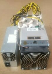 Antminer S9 16 TH APW3 PSU 100A Bitcoin BITMAIN Miner Tested Tune Mod Fast $300.00