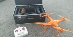Syma x8c 2.4ghz 4ch RC Quadcopter Drone HD Camera and Case $40.00
