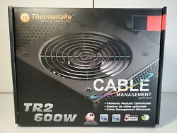 Thermaltake TR2 600W Power Supply With Cable Management $34.99