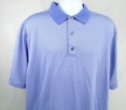 FootJoy Golf Polo Men#x27;s Shirt Size 2XL Blue Polka Dot University Park C.C. FL $24.95