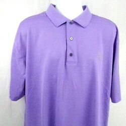 FootJoy Golf Polo Shirt 2XL Purple ProDry Pique Bucknell Golf Club Lewisburg PA $24.95