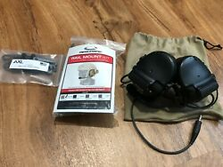 Peltor Comtac III Black Single Com Neckband Version w AMP Kit $599.99