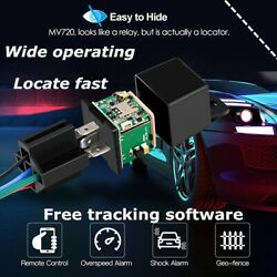 GPS Car Tracker Real Time Device Locator Remote Control Anti theft Hidden 12V $19.85