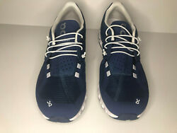 On Running Women#x27;s Cloud Road Shoes Denim White US Size 10 Slightly used $80.00