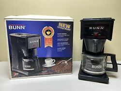 BUNN GR10 B Drip Coffee Maker 10 Cup Home Office Cafe Commercial in Box w Carafe