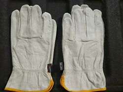 Lot 2 Memphis Leather Work Gloves XXL unlined $7.00