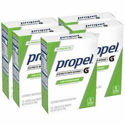 Propel Powder Packets Kiwi Strawberry With Electrolytes 10 Count Pack of 5 $13.27