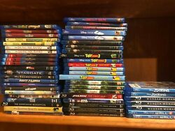 245 PICK AND CHOOSE BLU RAY DVD lot Buy 2 or More and Save. Disney Kids $6.95