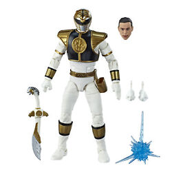 Power Rangers Lightning Collection 6 Inch Mighty Morphin White Ranger Figure $17.99