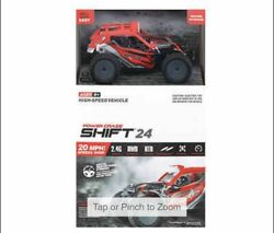Power Craze Shift 24 Mini RC High Speed Buggy RED NEW $23.99