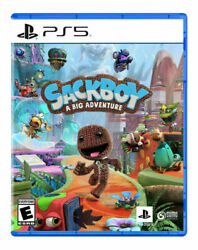 Sackboy: A Big Adventure PS5 Standard Edition 2020 – BRAND NEW amp; SEALED  $45.00