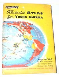 Hammond#x27;s Illustrated ATLAS for Young America Children Learning Maps amp; Facts $3.99