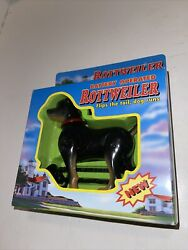 90#x27;s Rare Vintage Rottweiler Dog Battery Operated Moving 1999 Funmax Toys New $12.00