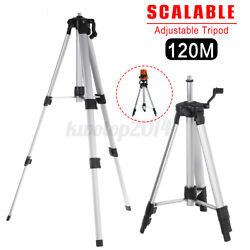 US Universal Aluminum Alloy Tripod Adjustable For Laser Level Stand Tool Adapter $23.60