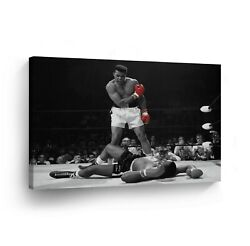 Muhammad Ali Canvas Painting Print Picture Wall Framed Art Modern Room Decor $19.99