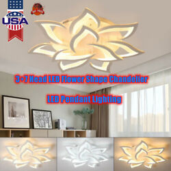 LED ceiling light Modern Home Chandelier lamp Neutral Warm Cool Light Dimmable $108.02