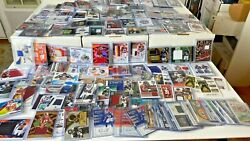 30 SUPER Football Hot Pack Card Lot AUTO Jersey PATCH RC Prizm amp; BONU$ $22.00