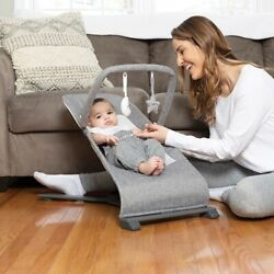 Infant Rocker Swing Bouncer Baby Floor Rocking Seat Bassinet Recliner Chair Crib $155.99