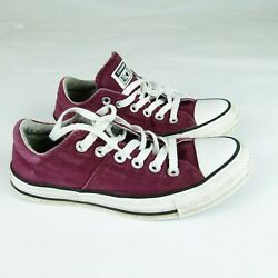 Converse All Star Women#x27;s Athletic Shoes Sneakers Size 7 Garnet $24.99