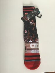 Stance Allen Iverson NBA Legends Cotton Socks L XL $16.95