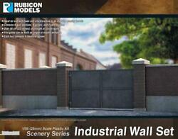 Rubicon Models: 283006 Industrial Wall Set 1 56 28mm WW2 Bolt Action $17.99