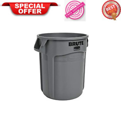 Commercial Products FG261000GRAY BRUTE Heavy Duty Round Trash Garbage