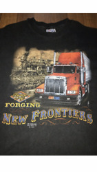 Vintage 3d Emblem 1989 Truckers Only Shirt L made in USA Single Stitch $139.00
