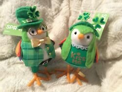 2020 Target Spritz St. Patrick's Day Birds. Laddie and Lucky. New With Tags. $59.99