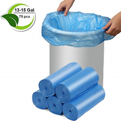 Trash Bags Biodegradable 13 15 Gallon Compostable Trash Bags Recycled Garbage $18.45