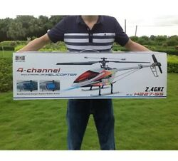 RC Helicopter V913 2.4G 4CH 70cm single propeller Built In Gyro RC Drone Toy $184.90