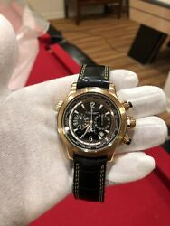 Jaeger LeCoultre Master Compressor Extreme World Chronograph Rose Gold Rossi 46 $15695.00