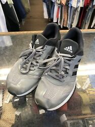Adidas Bounce Running Shoes Sneakers Size 11.5 Gray T 297 $30.00