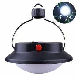 LED Lantern Camping Light with Handle Portable Battery ABS Plastic Rechargeable $21.84
