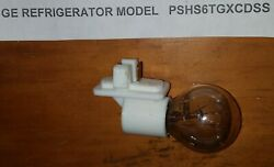 GE Refrigerator LIGHT SOCKET CHILL with used Bulb PART# WR31X10079 WR31X10012