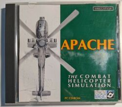 Apache The Combat Helicopter Simulator PC CD NM $6.99
