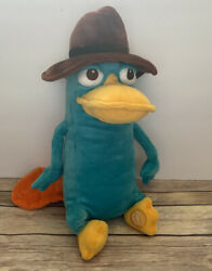 Disney Store Phineas amp; Ferb Perry Platypus Agent P 15quot; Plush Toy Stuffed $12.99