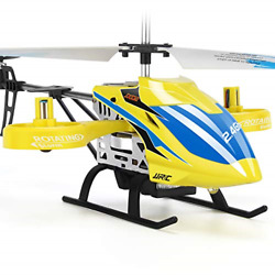 JJRC RC Helicopter JX02 Aircraft with 4 Channel Altitude Hold Flying Toy in $42.00
