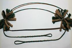 57quot; flemish twist B55 bow string for 60quot; RECURVE LONGBOW WITH SILENCERS $15.00