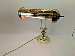 Vintage Brass Adjustable Lamp Great for Desk or Piano $44.99