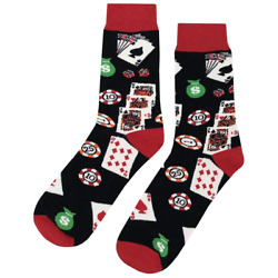Premium Casino Fun Socks $9.99