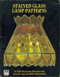 Stained Glass Lamp Patterns by Judy Miller $12.00